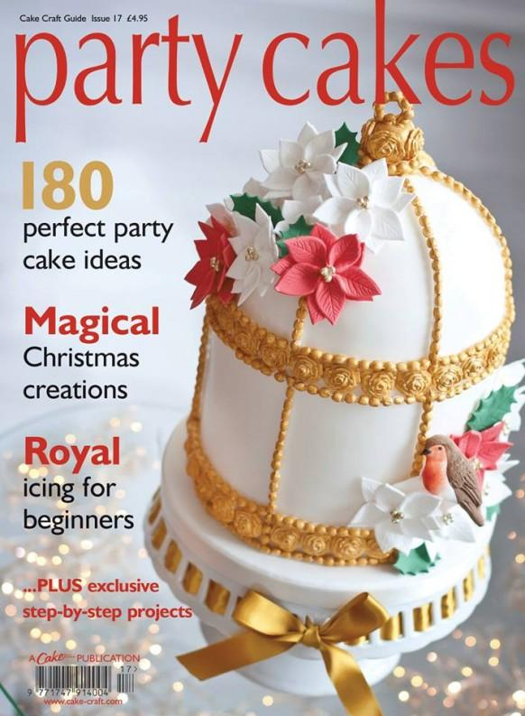 Food Amp Favor Party Cakes Magazine Cover 1969355 Weddbook