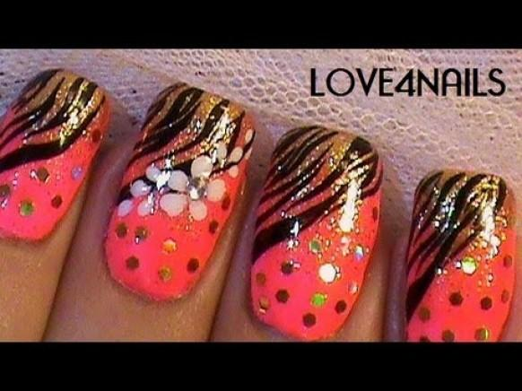 Zebra Nail Art Designs Step By Step Hession Hairdressing