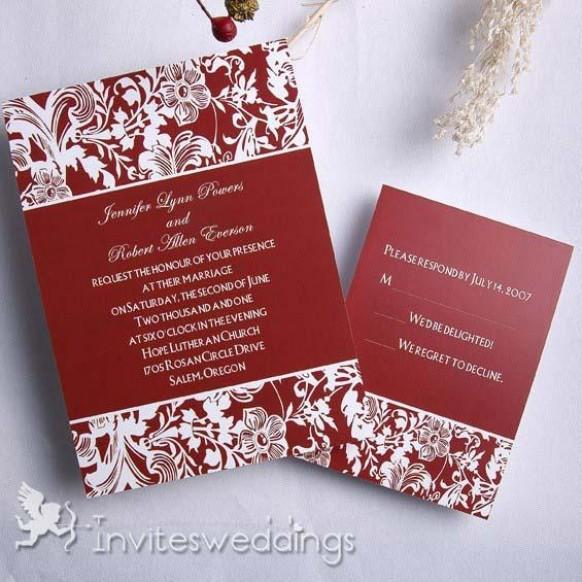 Inexpensive Wedding Invitation Ideas: Cheap Wedding Invitations #1974214