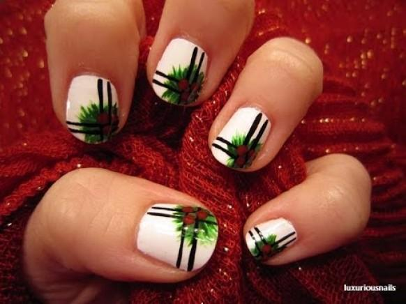 Traditionelle Hochzeit Traditional Holly Nail Art Tutorial