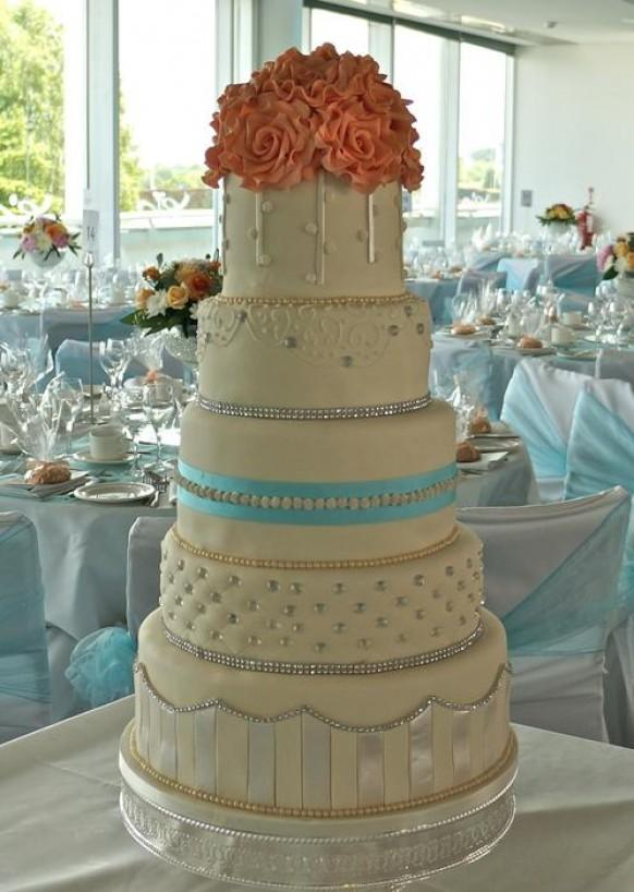 Wedding Cakes 5 Tier Wedding Cake 1983655 Weddbook