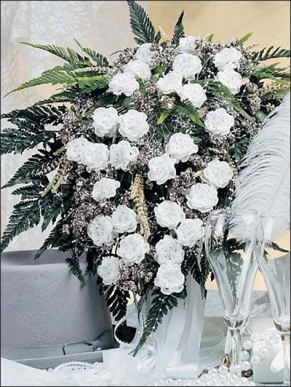 Exelent Crochet Wedding Bouquet Patterns Component Sewing Pattern