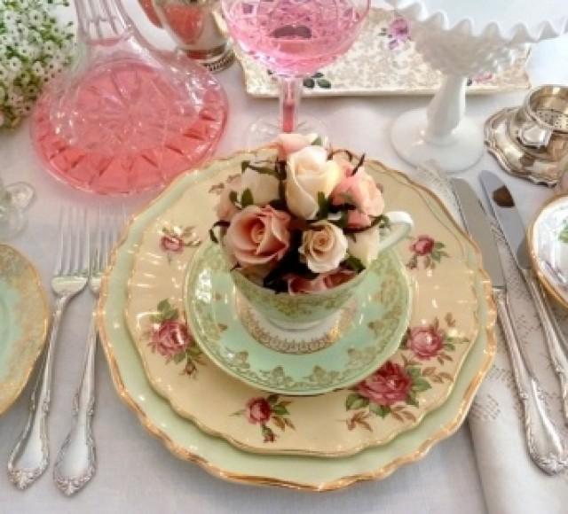 Vintage Garden Wedding Ideas: Vintage Garden Wedding #2007715