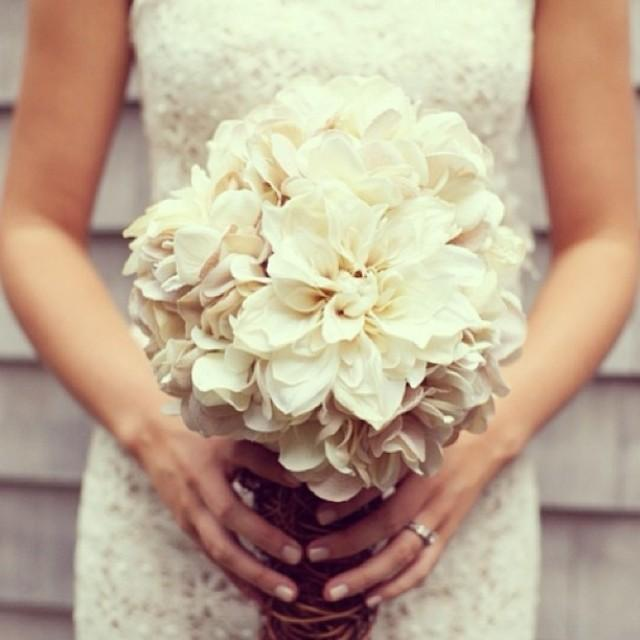 Свадебные букеты из гортензии своими руками