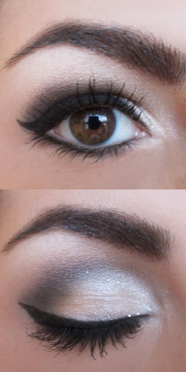 Как сделать дымчатый макияж глаз пошагово: фото-уроки