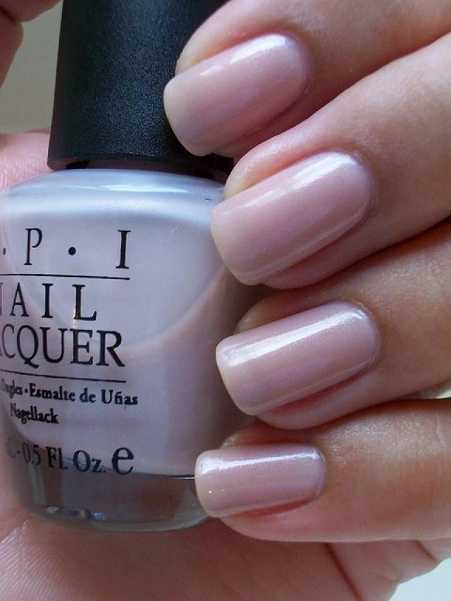 Wedding Nail Designs - Opi Mod Hatter. Bridal Nail Polish ...
