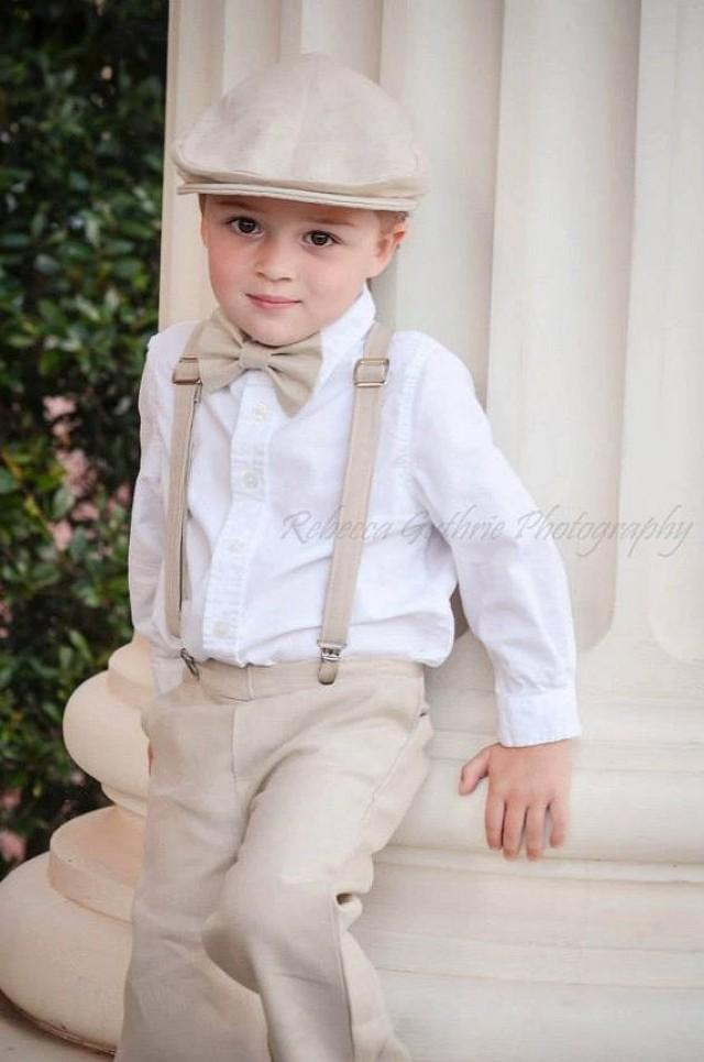 6209e7beb Ring Bearer Outfit, Ring Bearer Bowtie, Ring Bearer Suspender Set, Bowtie  And Suspender Set For Newborn, Toddler And Boys
