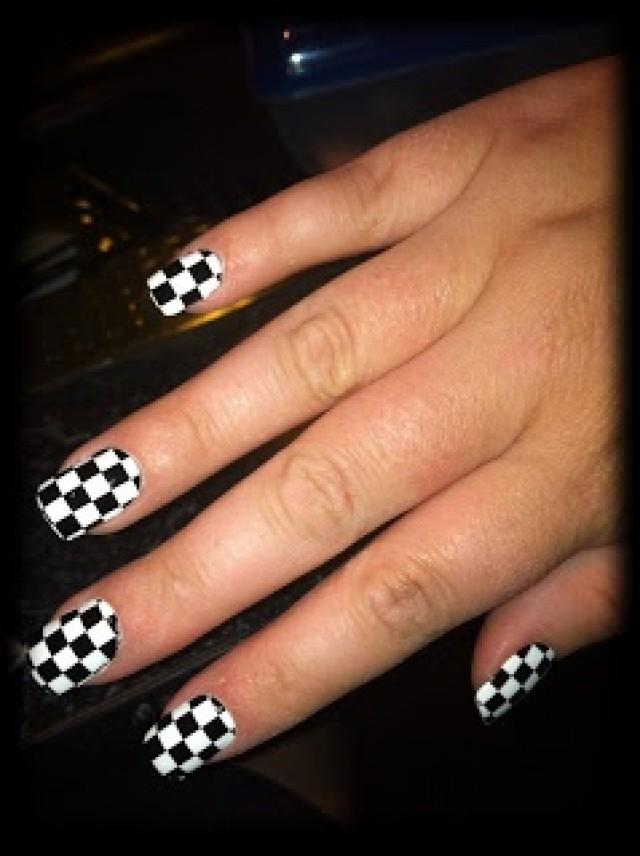 - Nail - Raceday Nails!! NASCAR #2028965 - Weddbook