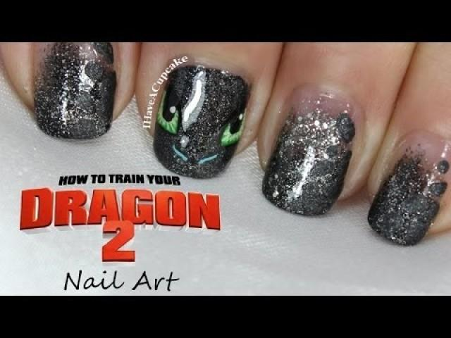 Wedding Nail Designs - How To Train Your Dragon Nail Art #2029094 - Weddbook - Wedding Nail Designs - How To Train Your Dragon Nail Art #2029094