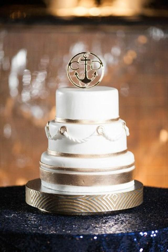 Nautical Wedding Nautical Themed Wedding Cake 2029146