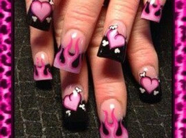 Wedding Nail Designs - Valentines Nail Art #2030100 - Weddbook