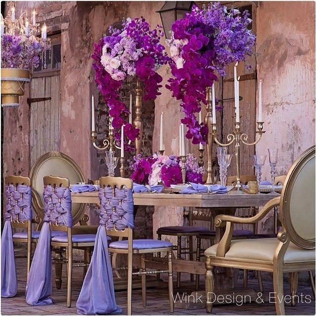 Decor Radiant Orchid Tablescape 2031233 Weddbook