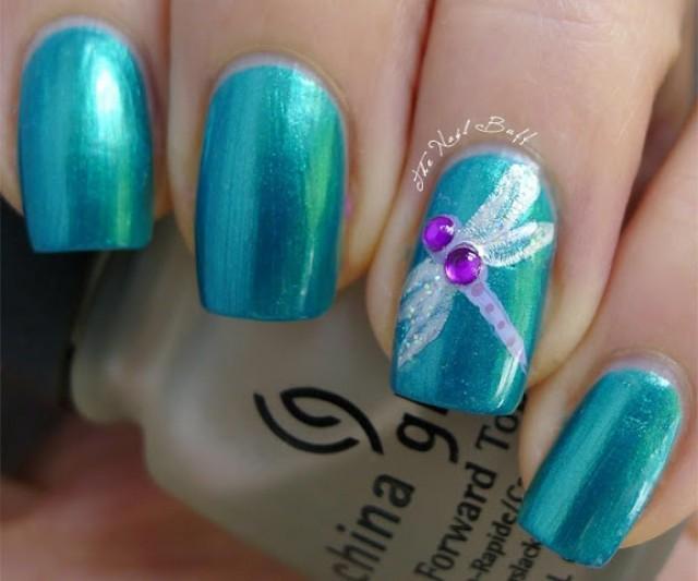 - Nail - Dragonfly(: #2033430 - Weddbook