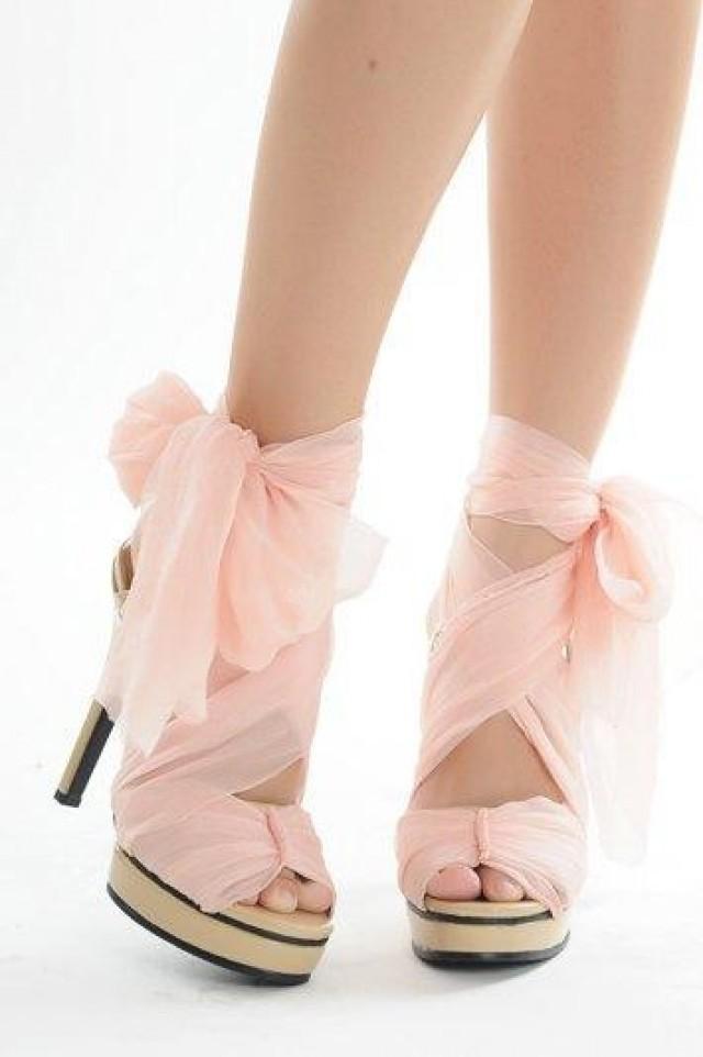 Elegant DIY Bow Heels foto