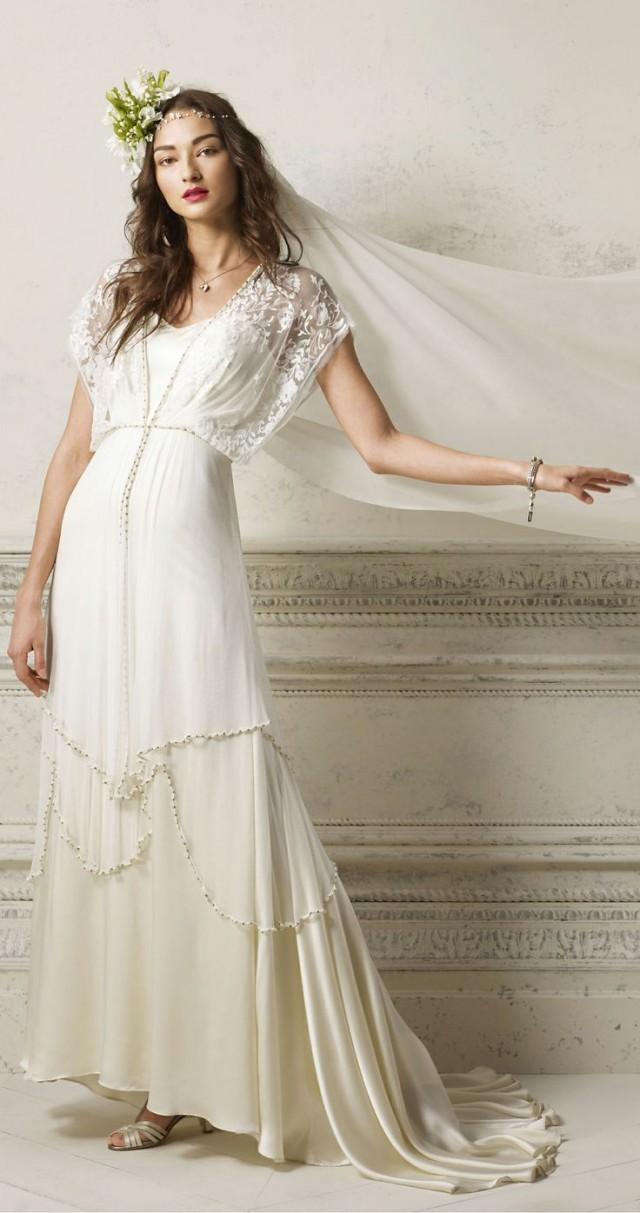 20s Wedding - Gatsby Inspired Gown #2038872 - Weddbook