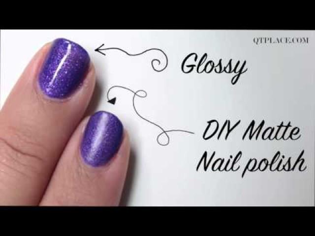Wedding Nail Designs - Diy How To Make Matte Nail Polish #2040315 ...