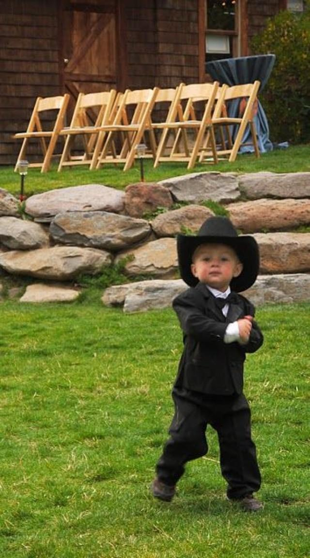 Flower Girls - Cowboy Ring Bearer - Too Cute! #2040572 - Weddbook