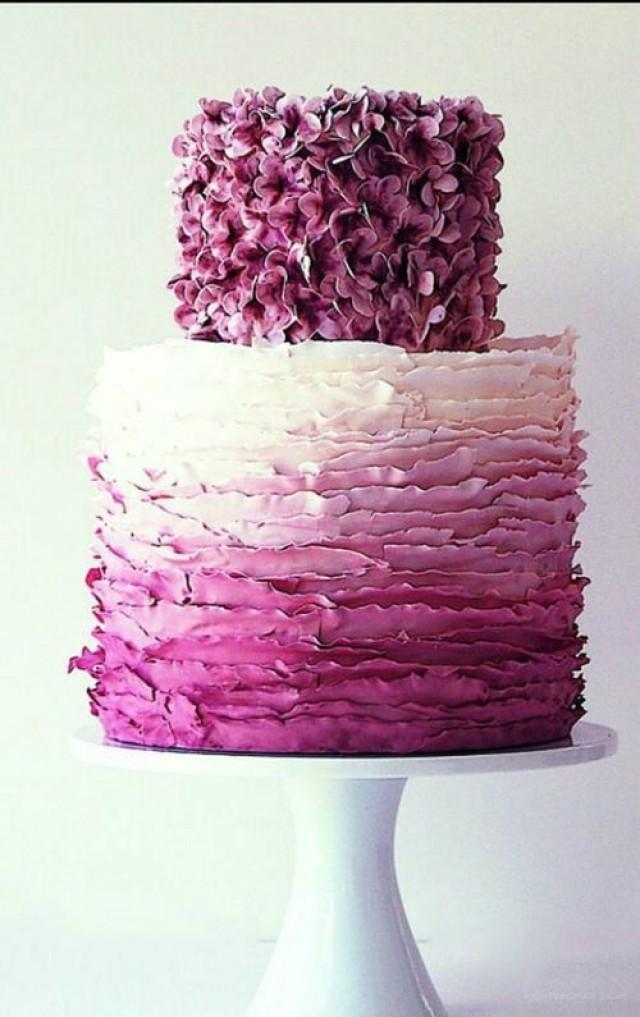 Fondant Kuchen Lila Hochzeitstorte 2041331 Weddbook
