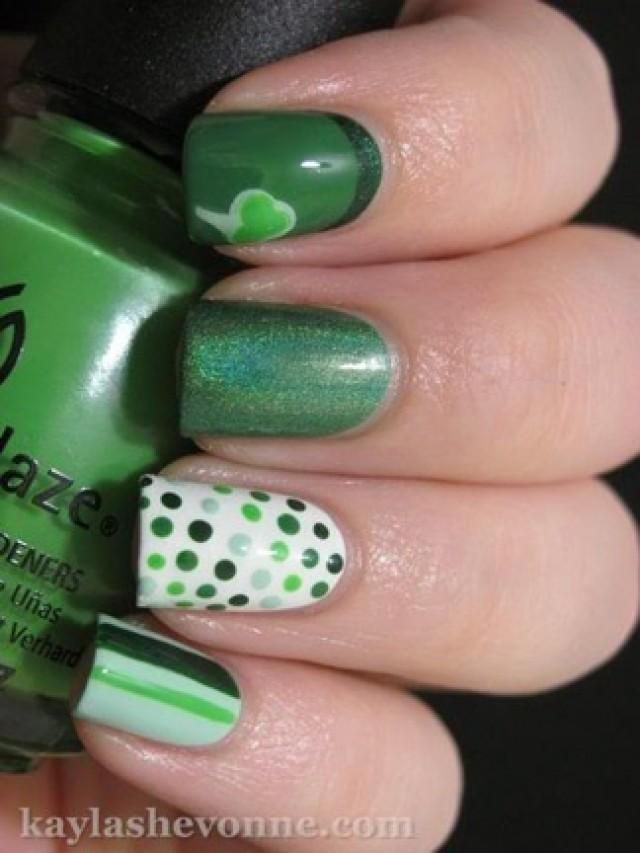 20 Super Fun St Patrick S Day Nail Designs 2045411