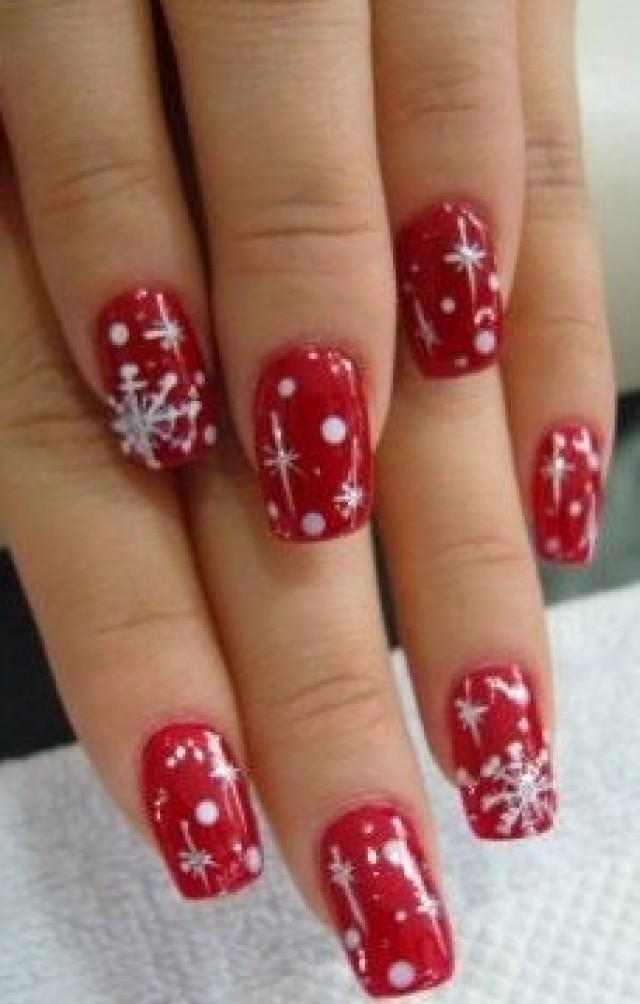 christmas wedding gifts christmas nail art 2046095 weddbook