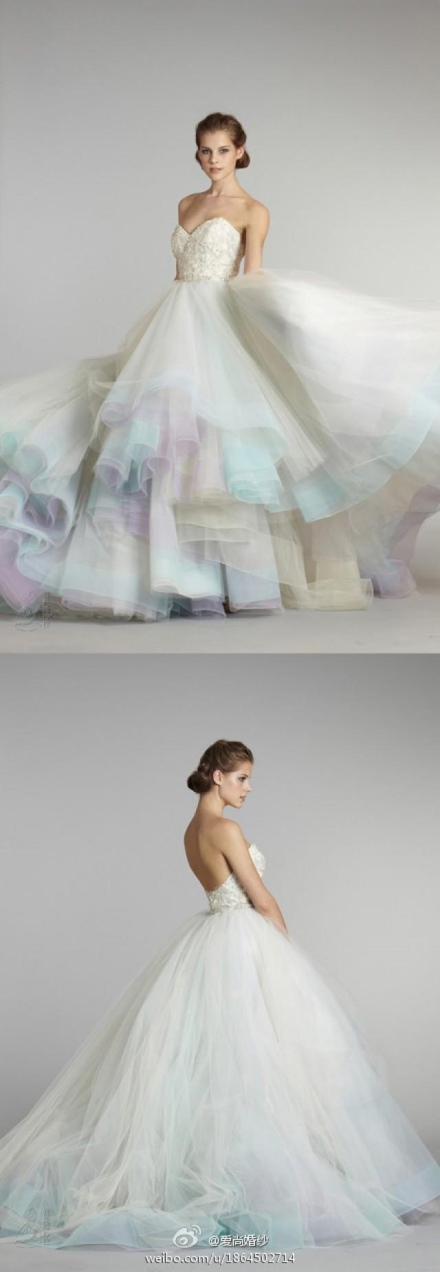 Kleiden - Lazaro Brautkleider #2047171 - Weddbook