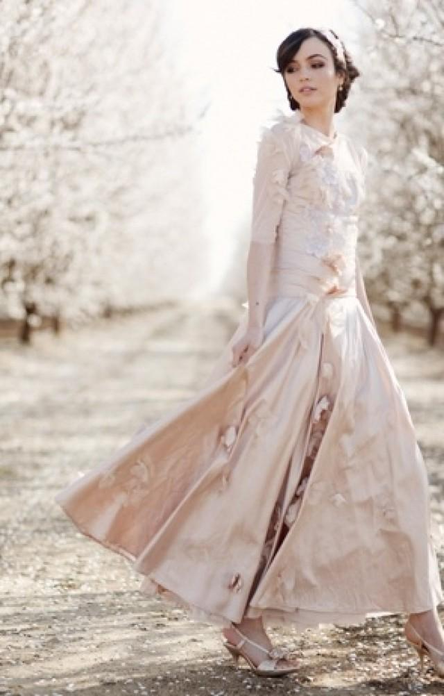 Pink wedding pink claire pettibone dress 2047231 weddbook for Where to buy claire pettibone wedding dress