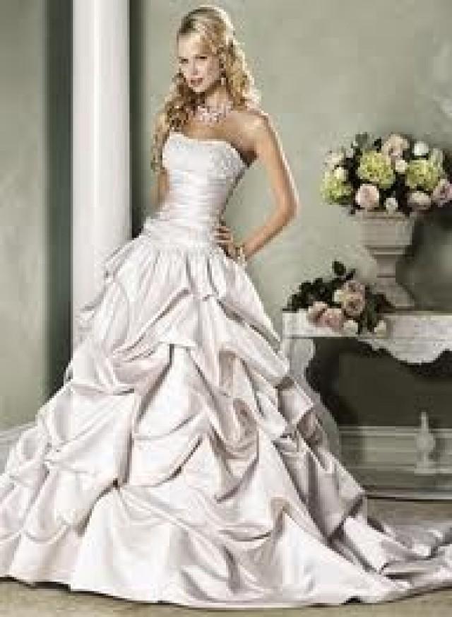 Gathered Wedding Dresses