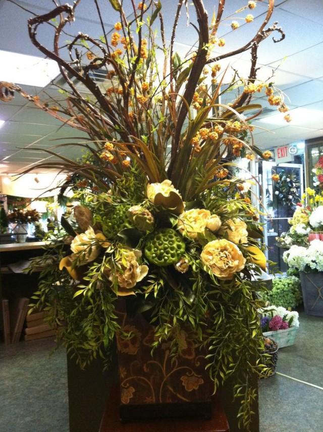 0 Interest Car Deals >> Centerpieces - Large Silk Floral Arrangement #2047384 - Weddbook