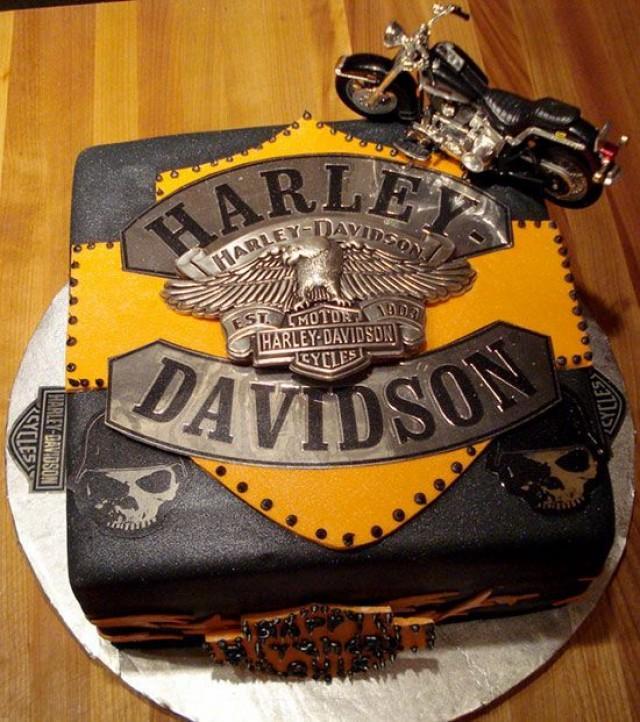 Wedding Cakes Harley Davidson Cake Groom 2047943