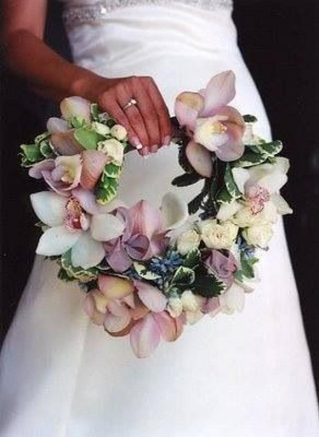Unique Wedding Bouquet Handles Contemporary Bridal