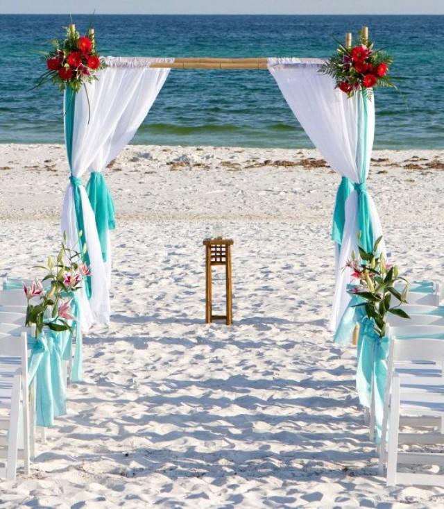 Diy Bamboo Wedding Altar