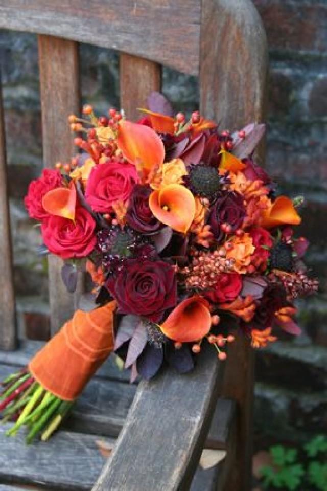 Mariage D 39 Automne Bouquet D 39 Automne Couleurs Sont