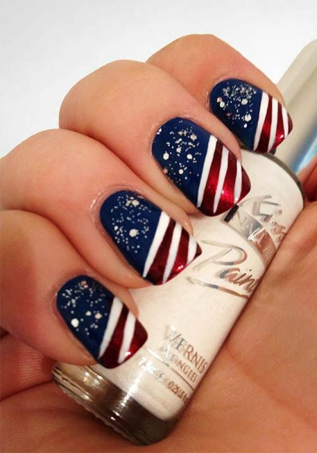 Wedding nail designs 4th of july nail 2050432 weddbook prinsesfo Gallery