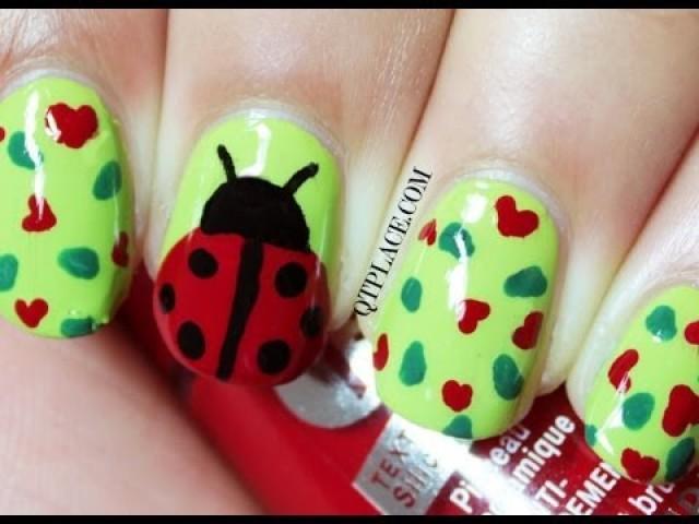 Wedding Nail Designs Ladybug Nail Art 2053819 Weddbook