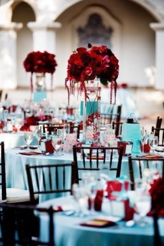 Burgundy Wedding Fun Red Centerpeice 2056231 Weddbook