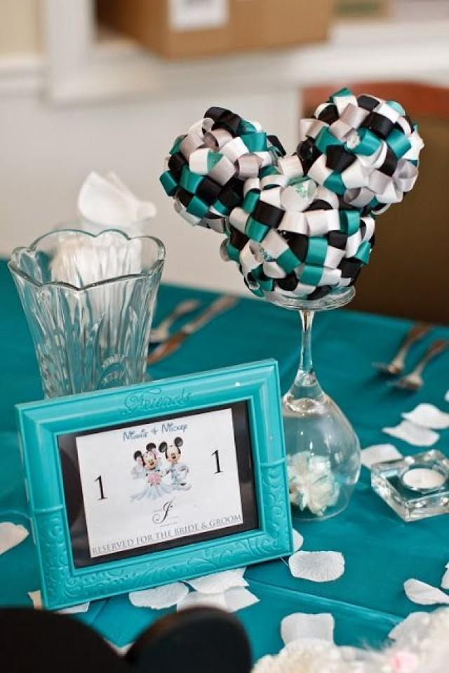 Marvelous Disney Wedding Mickey Ribbon Topiary Centerpieces 2056952 Download Free Architecture Designs Scobabritishbridgeorg