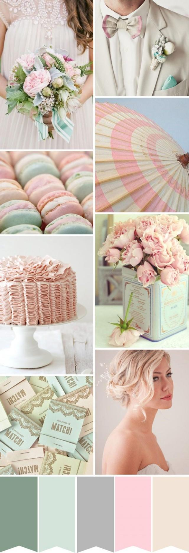 Цветовые палитры для свадьбы фото