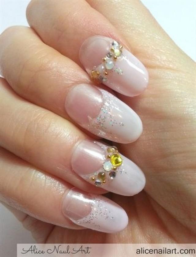 Wedding Nail Designs - Bridal Wedding Nail Art #2057656 - Weddbook