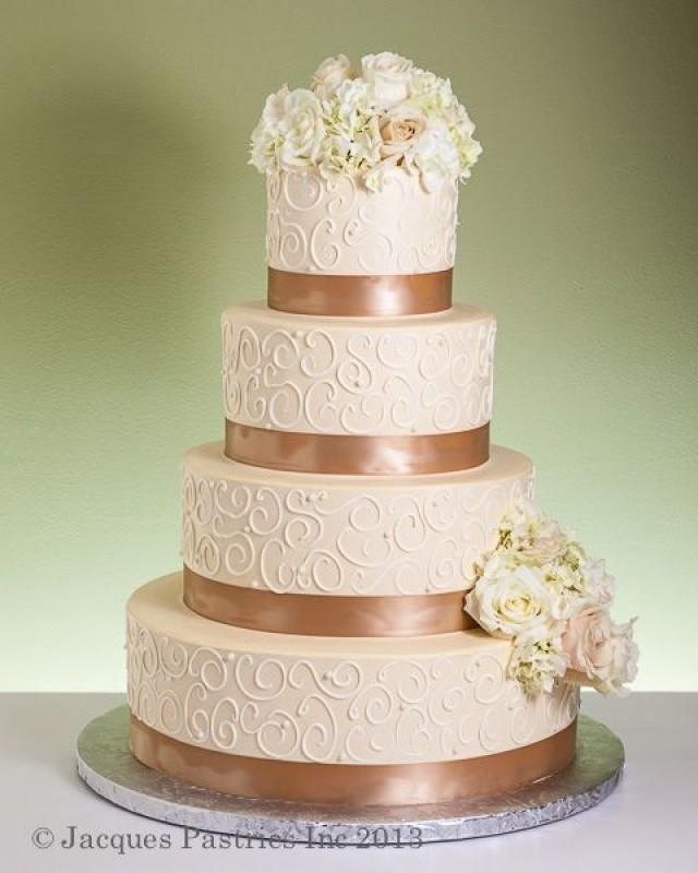 Colorful Wedding Cake Gold 2057998 Weddbook