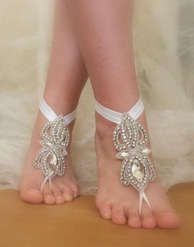 yoga victorian sandals pin nude lace jewelry shoes footless barefoot wedding foot anklet