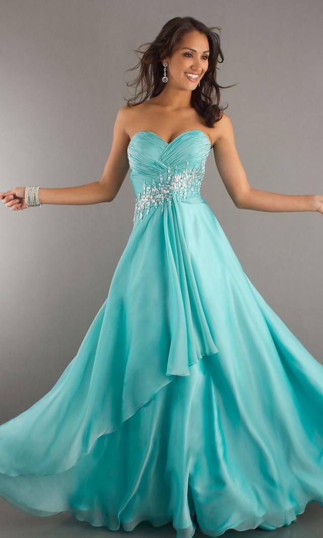 Tiffany Blaue Hochzeits- - Abschlussball-Kleid #2059257 - Weddbook