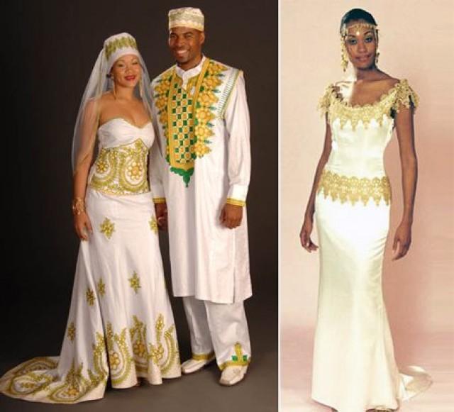 Traditional Wedding African Dresses Weddbook