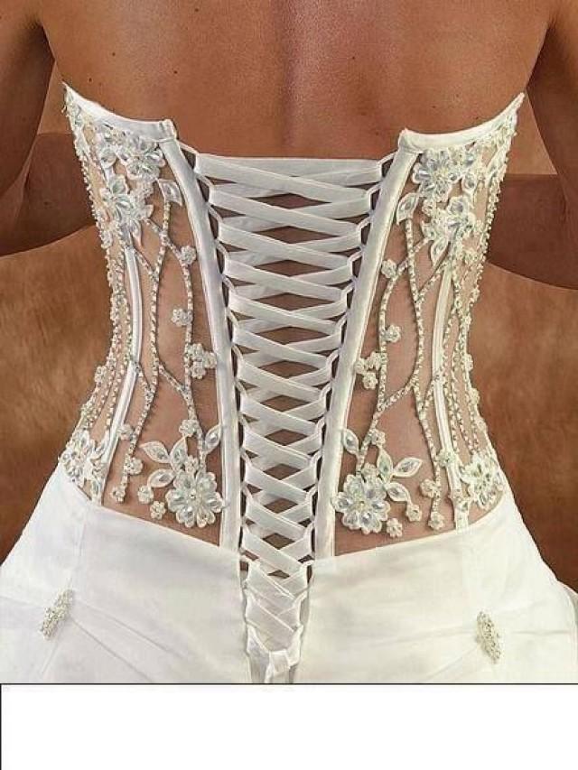 wedding nail designs - corset  2061055