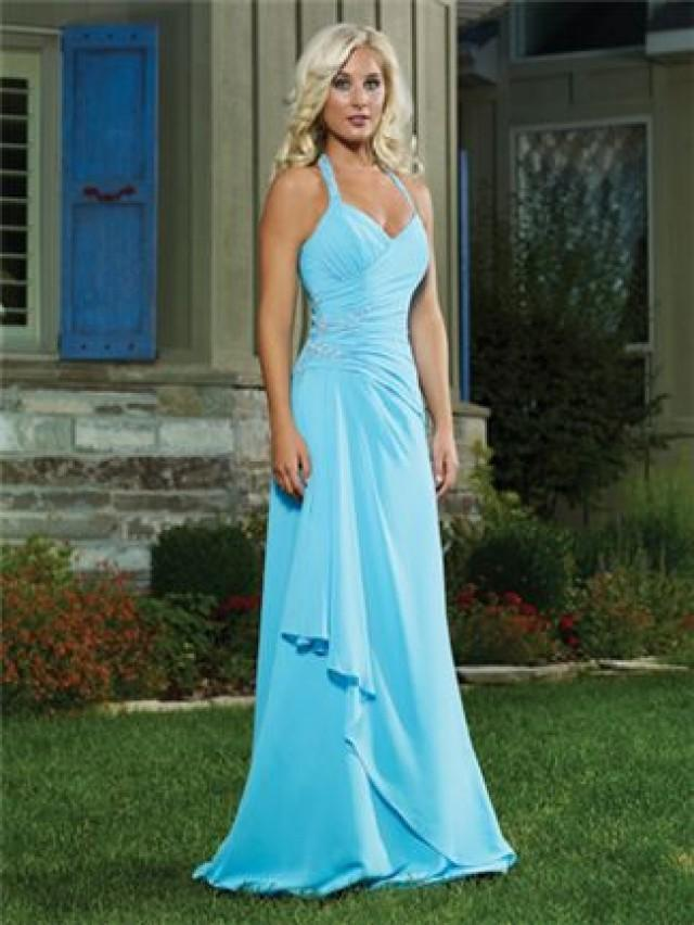 Tiffany Blue Wedding - Blue Bridesmaid Dresses #2061243 ...
