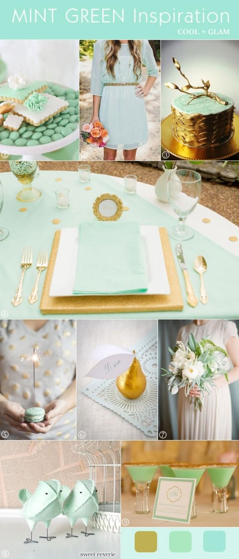 Mint Wedding - MINT GREEN WEDDINGS #2062196 - Weddbook