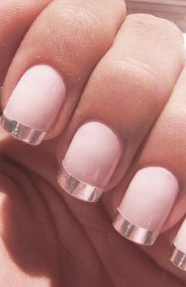 Modern French Manicure #2062529