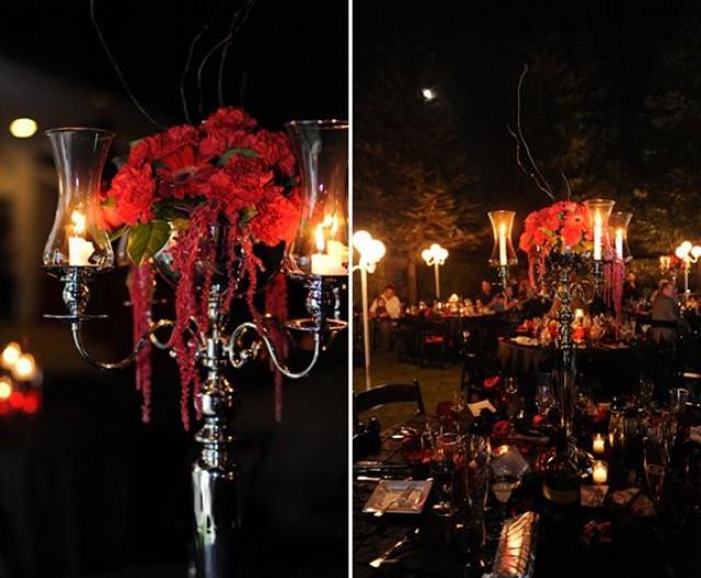 Gothic Wedding Table Settings Castrophotos