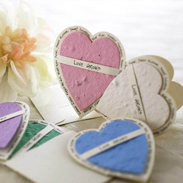 Wedding Favors Food: Seed Paper Wedding Favors #2062984