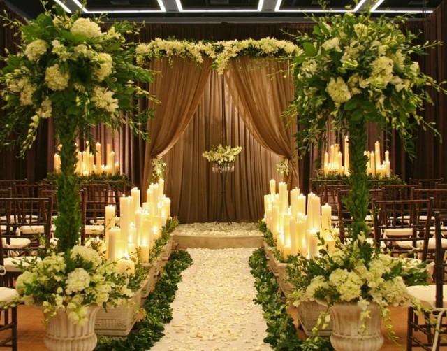 Garden Wedding Ceremony Decor Indoor Garden 2064292 Weddbook