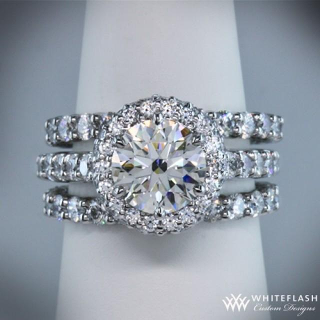 Engagement ring with 2 wedding bands Fashion wedding shop